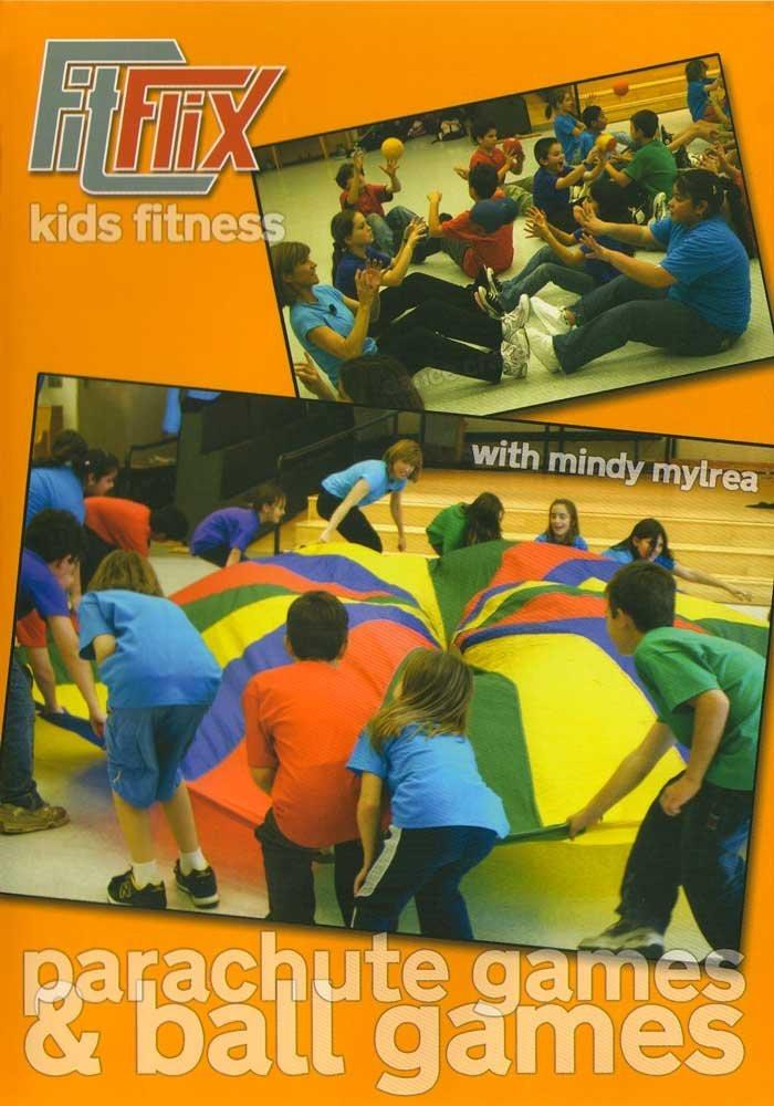 Mindy Mylrea: Parachute Games & Ball Games For Kids - Collage Video