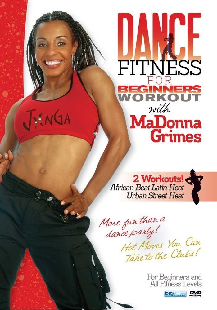 Dance Fitness Workouts - Urban Street & African Beat With Madonna Grimes - Collage Video
