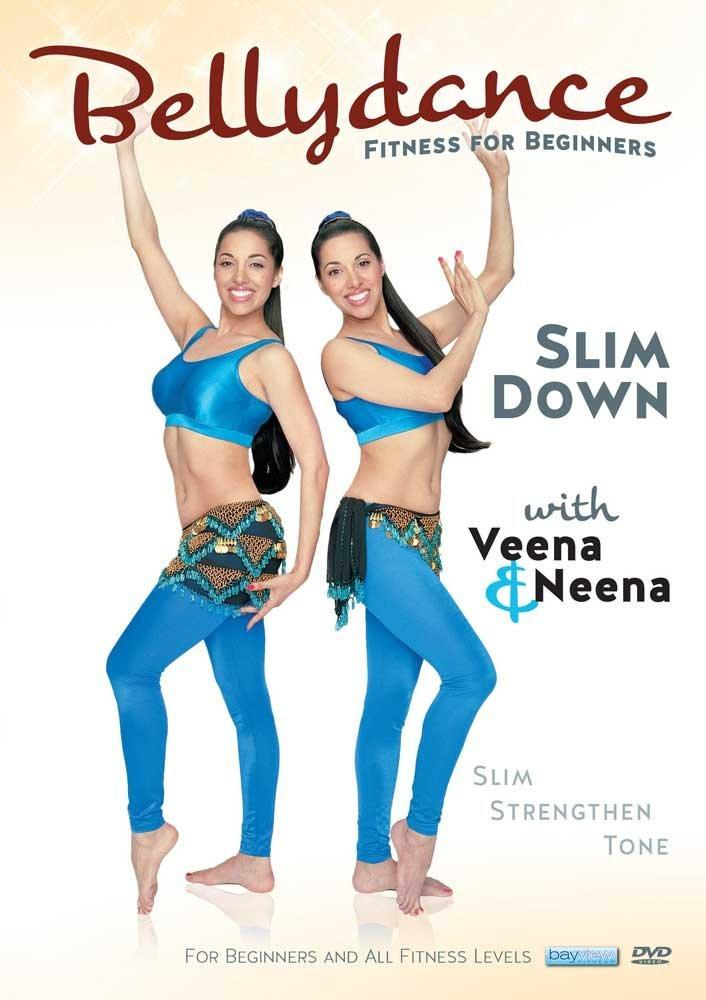 Bellydance Twins: Fitness For Beginners - Slim Down With Veena & Neena - Collage Video