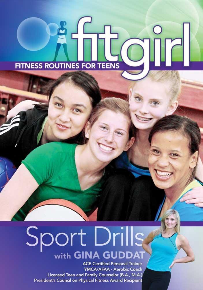 Fitgirl: Sport Drills With Gina Guddat - Collage Video