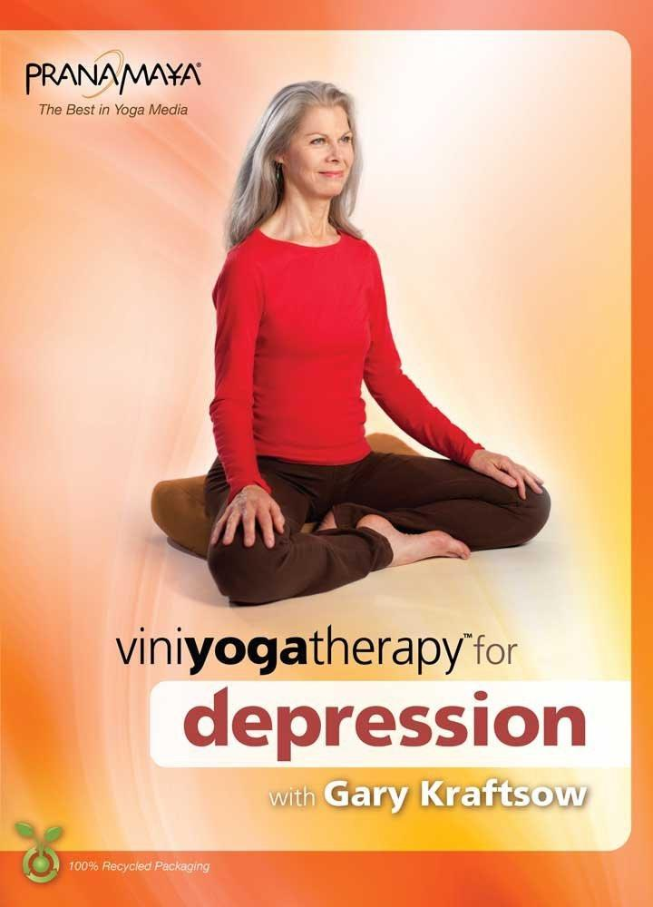 Viniyoga Therapy For Depression For Beginners To Advanced With Gary Kraftsow - Collage Video