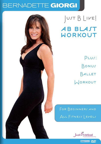Just B Live Ab Blast with Bernadette Giorgi