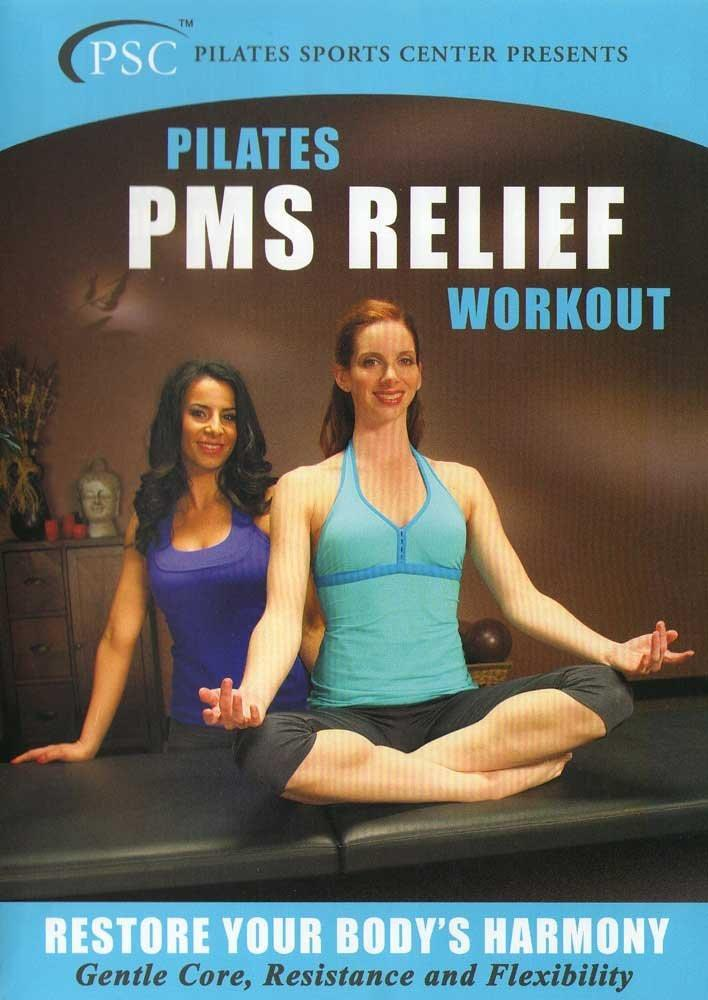 Pilates Pms Relief Workout: Gentle Core, Resistance And Flexibility - Collage Video
