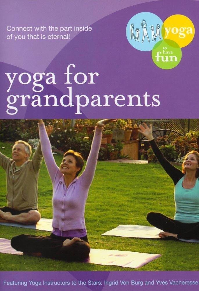 Yoga For Grandparents: Fun Gentle Practices - Collage Video