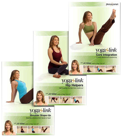 Pranamaya - Yoga Link: Harmonizing The Hips, Shoulders And Core 3-DVD Set