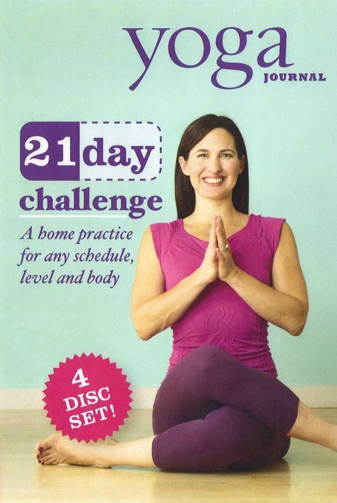 Yoga Journal: 21 Day Challenge Transform Your Body In 3 Weeks (4 Disc Set) - Collage Video