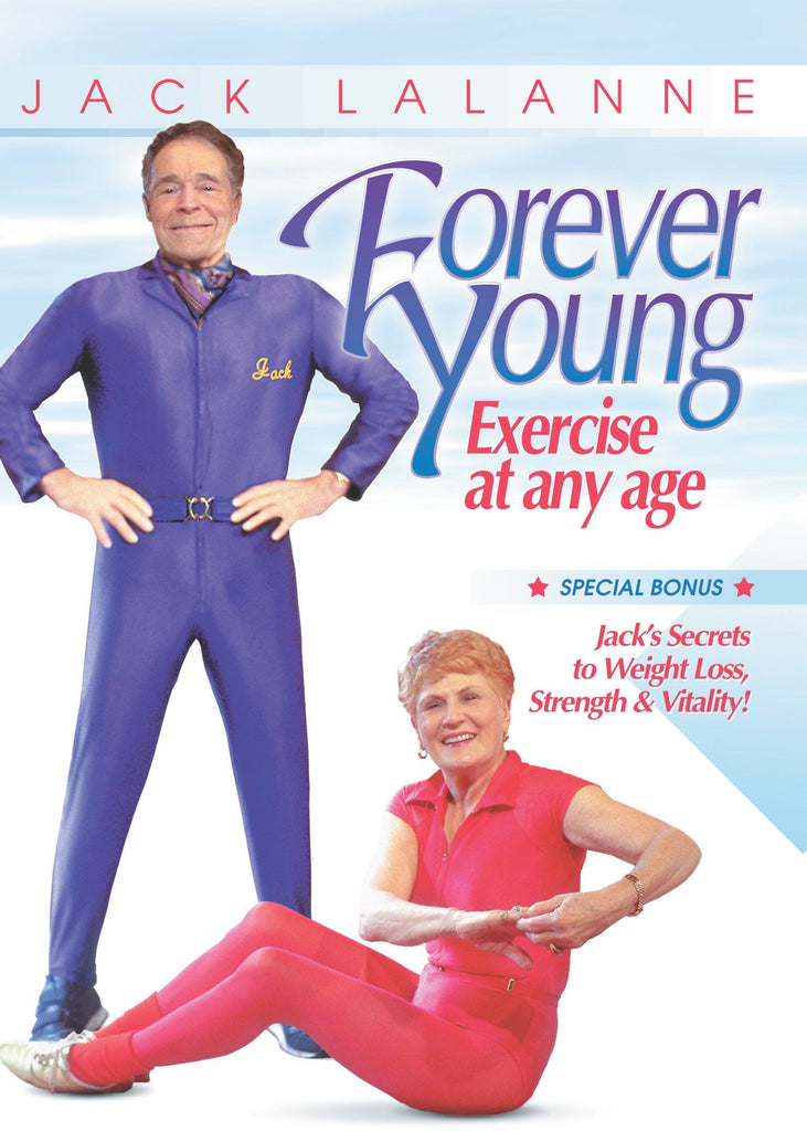 Jack LaLanne: Forever Young - Exercise at any age - Collage Video
