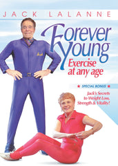 (Huge Savings!) Jack LaLanne: Forever Young - Exercise at any age - Collage Video