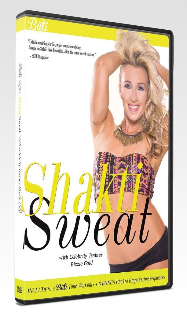 The Shakti Sweat Series (3-DVD set)
