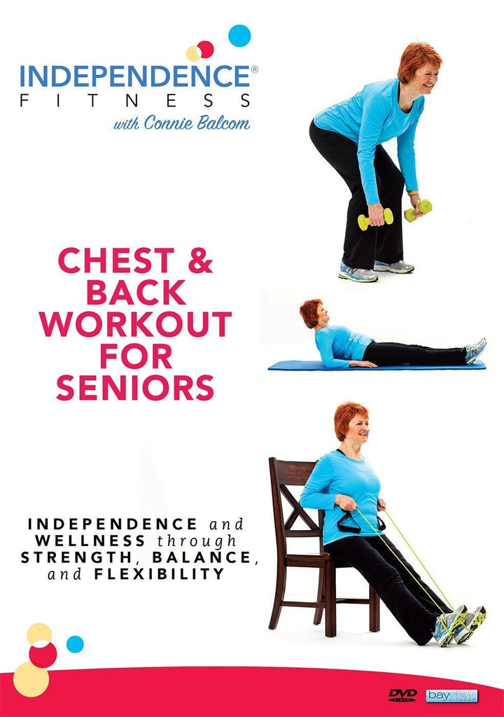 Independence Fitness: Chest & Back Workout For Seniors - Collage Video