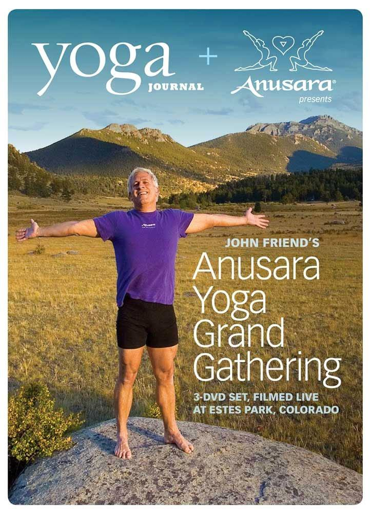 Yoga Journal: John Friend's Anusara Yoga Grand Gathering (3 DVD Set) - Collage Video