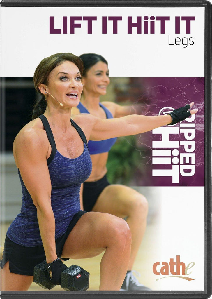 Cathe Friedrich's Ripped with HiiT: Lift It HiiT It Legs - Collage Video