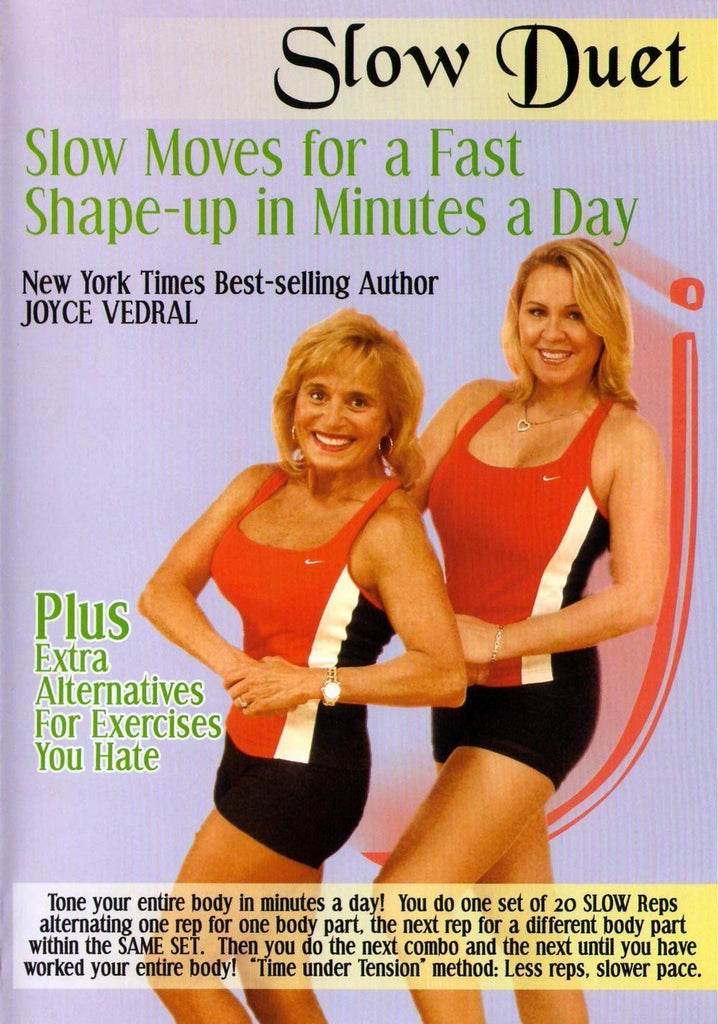 Joyce Vedral: Slow Duet Slow Moves For A Fast Shape-Up In Minutes A Day - Collage Video