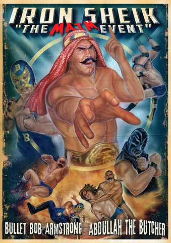 Iron Sheik - The Maim Event Wrestling - Uncut Director's Edition