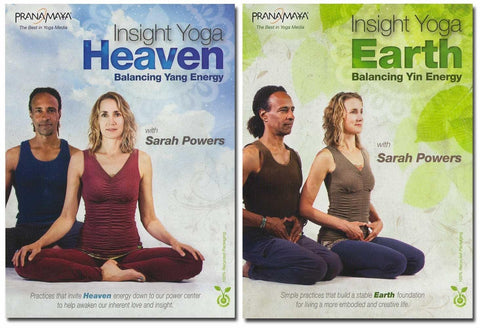 Pranamaya - Insight Yoga: Heaven And Earth 2-DVD Set