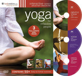 Yoga For Inflexible People (3-DVD set) - Collage Video