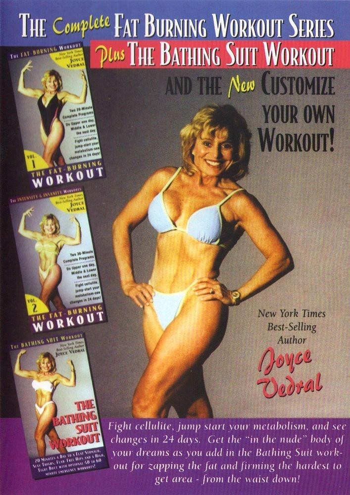 Joyce Vedral: Complete Fat Burning Plus Bathing Suit Workout - Collage Video