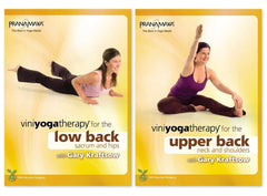 Viniyoga Therapy Complete Back Care 2-DVD Set - Collage Video