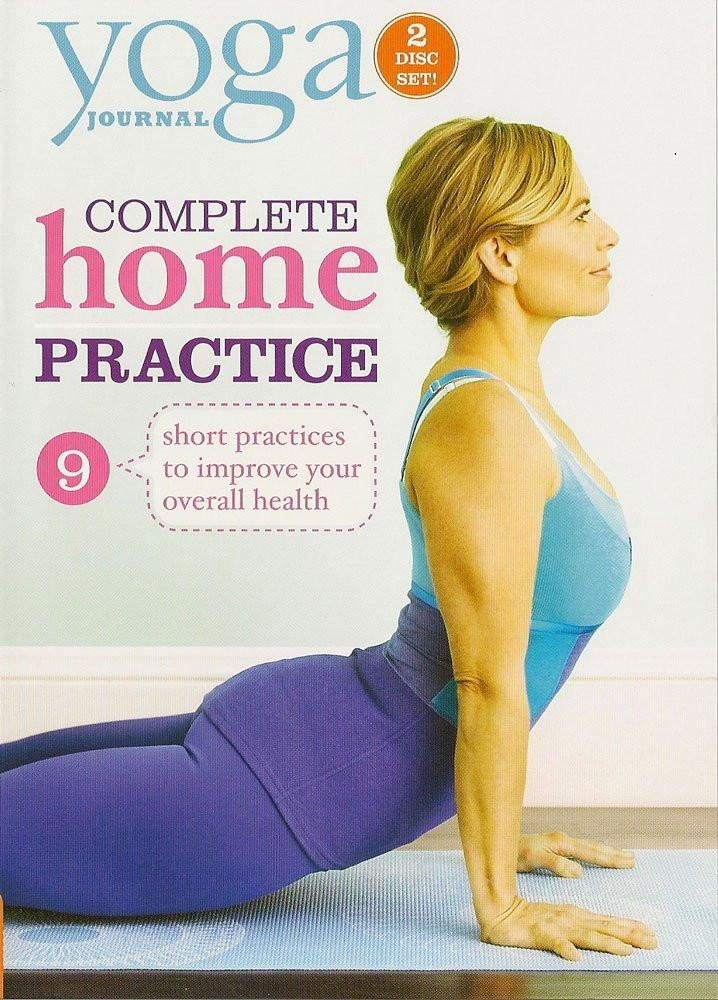 Yoga Journal: Complete Home Practice 2 DVD Set - Collage Video