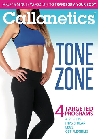 Callanetics Tone Zone: 4 Targeted Programs