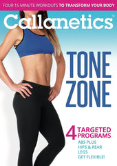 Callanetics Tone Zone: 4 Targeted Programs - Collage Video
