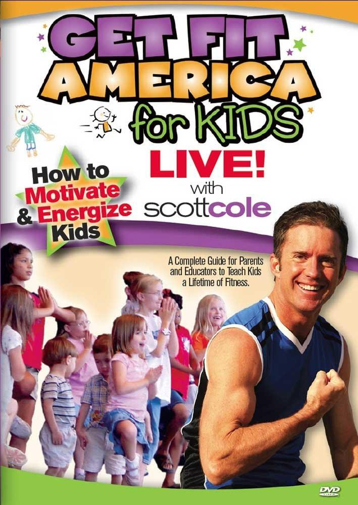 Scott Cole: Get Fit America For Kids - Live - Collage Video