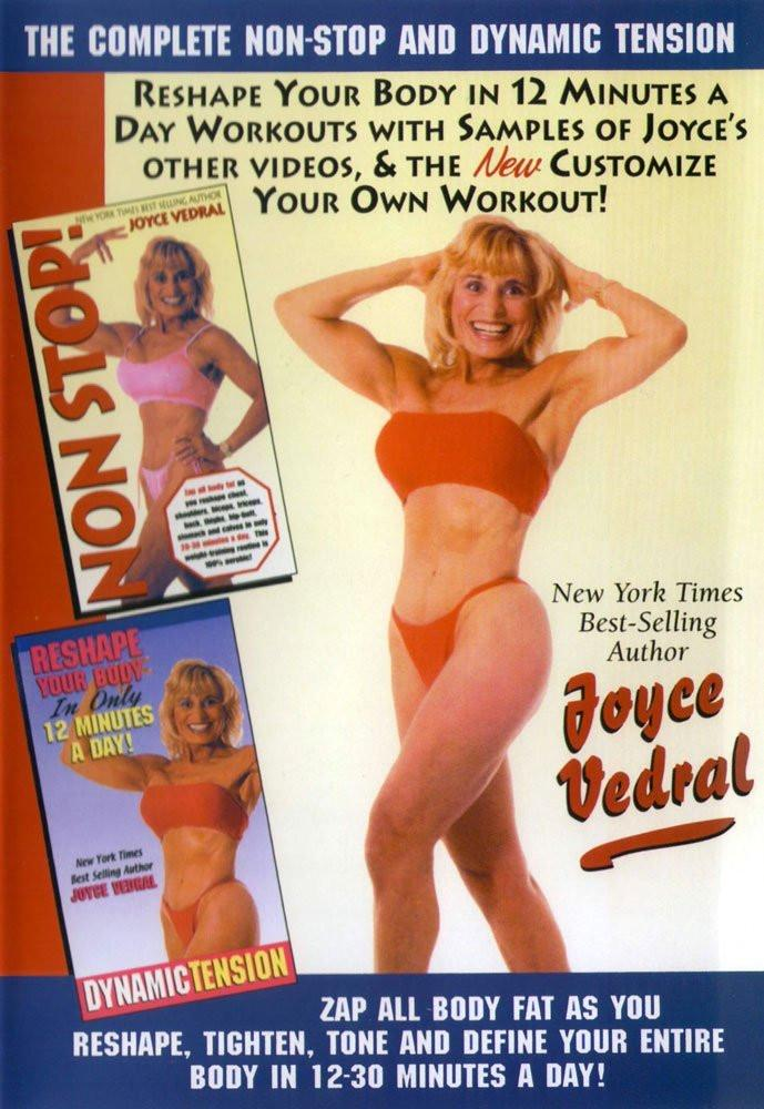 Joyce Vedral: Dynamic Tension & Complete Non-Stop Workout - Collage Video