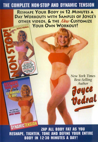 Joyce Vedral: Dynamic Tension & Complete Non-Stop Workout