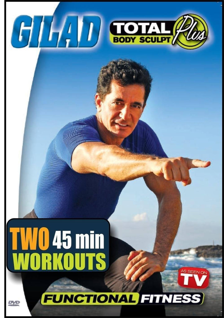 Gilad's Total Body Sculpt Plus: Functional Fitness - Collage Video