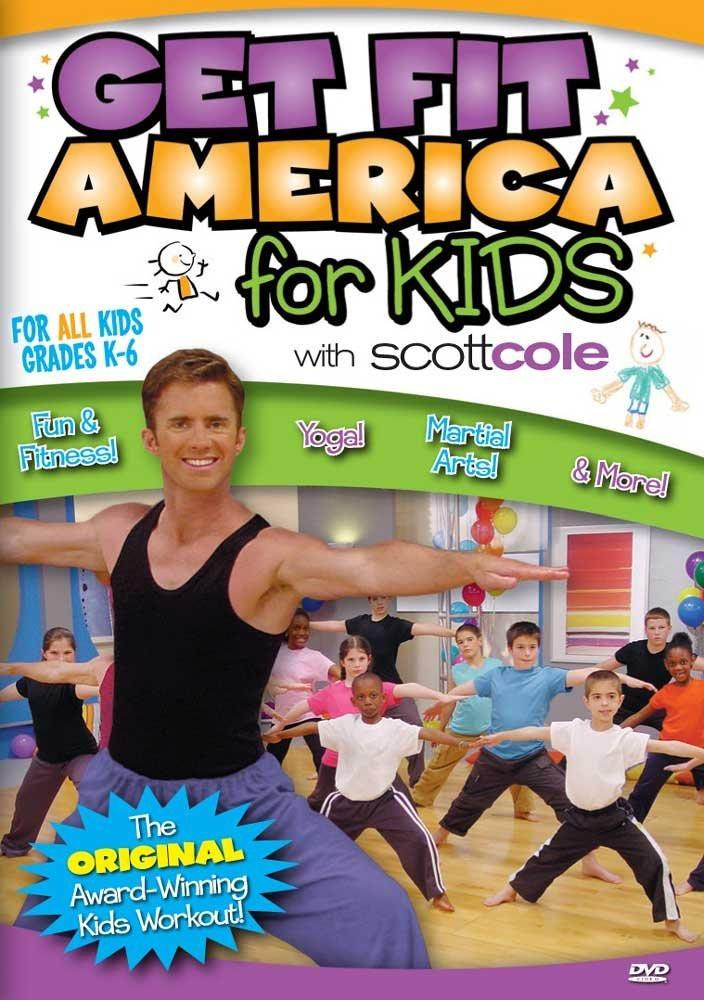 Scott Cole: Get Fit America For Kids Workout - Collage Video