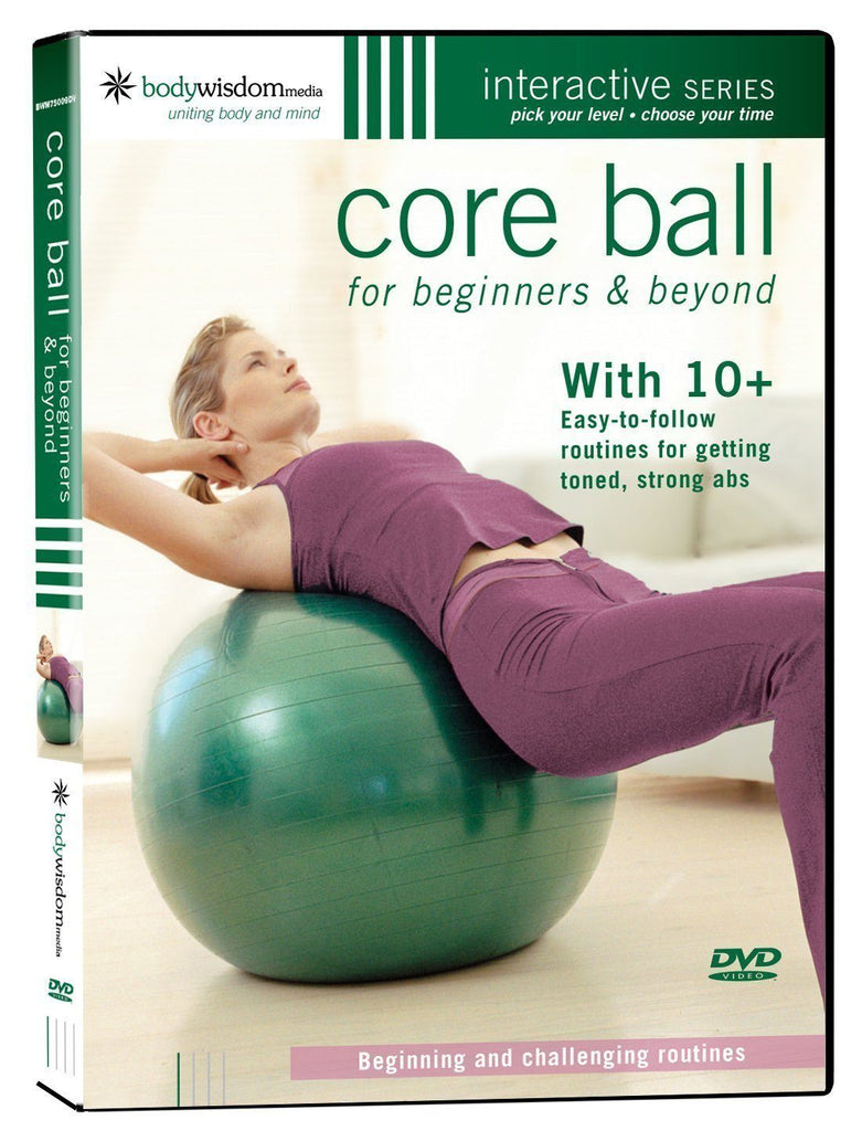Core Ball For Beginners & Beyond - Collage Video