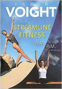 Karen Voight: Streamline Fitness AM PM Workout - Collage Video