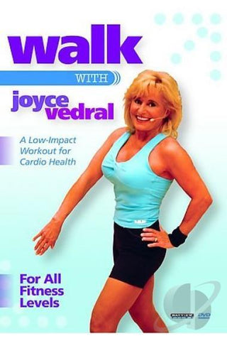 Walk With Joyce Vedral (Low-Impact Workout For Cardio Health)