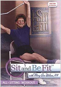 Sit and Be Fit: All Sitting Workout - Collage Video