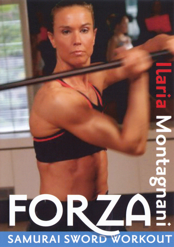 Forza Samurai Sword Workout with Ilaria Montagnani - Collage Video
