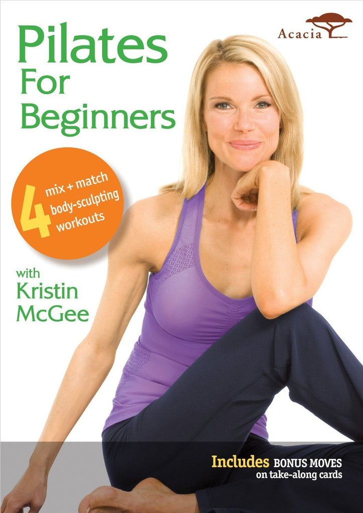 Pilates for Beginners with Kristin McGee - Collage Video