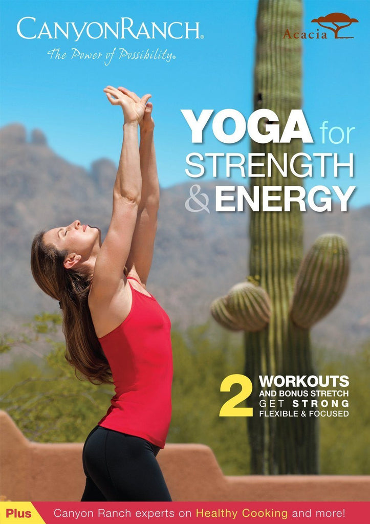 Canyon Ranch Yoga for Strength & Energy - Collage Video