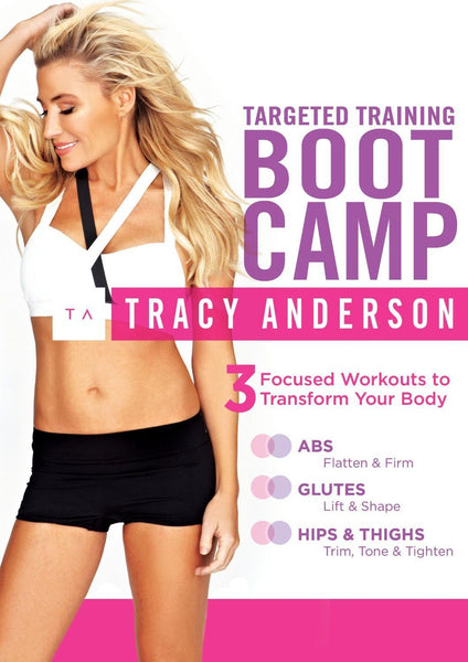 Tracy Anderson Targeted Training Bootcamp Collage Video