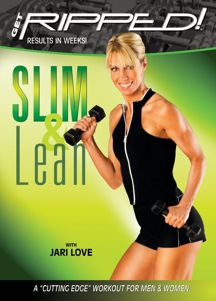 Jari Love's Get Ripped: Slim and Lean - Collage Video