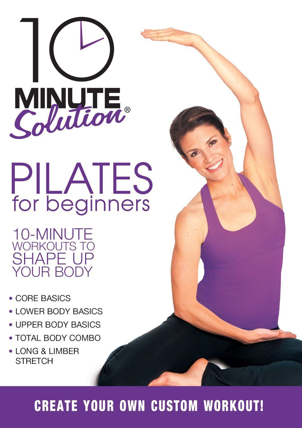 10 Minute Solution: Pilates for Beginners - Collage Video