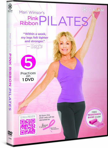 Mari Winsor's Pink Ribbon Pilates with Band