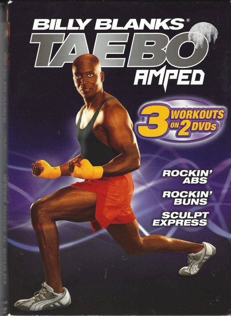 Billy Blanks: Taebo Amped (3 Workouts on 2 DVDs) - Collage Video