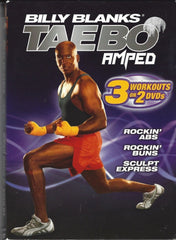 Billy Blanks: Taebo Amped (3 Workouts on 2 DVDs)