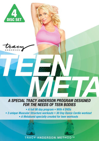 Tracy Anderson: Teen Meta (4 DVD Set)