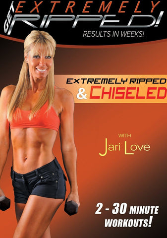 Jari Love's Extremely Ripped and Chiseled