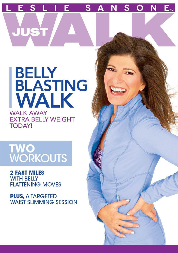 Leslie Sansone: Belly Blasting Walk - Collage Video