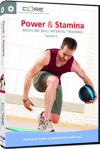 Stott Pilates: Power & Stamina Medicine Ball Interval Training Vol 2