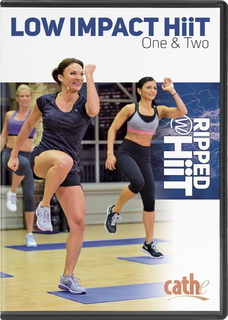 Cathe Friedrich's Ripped with HiiT: Low Impact HiiT - Collage Video