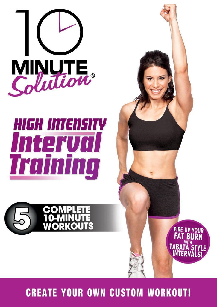 10 Min. Solution: High Intensity Interval Training
