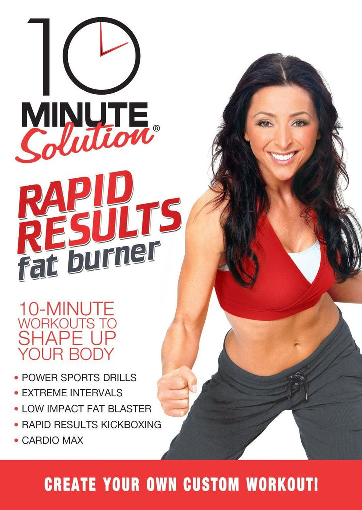 10 Minute Solution: Rapid Results Fat Burner - Collage Video